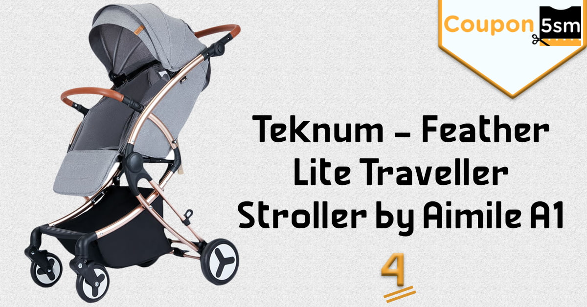 Teknum - Feather Lite Traveller Stroller by Aimile A1