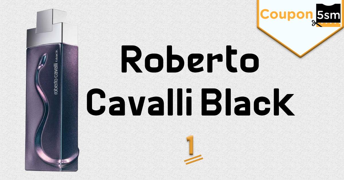 عطر روبرتو كفالي black