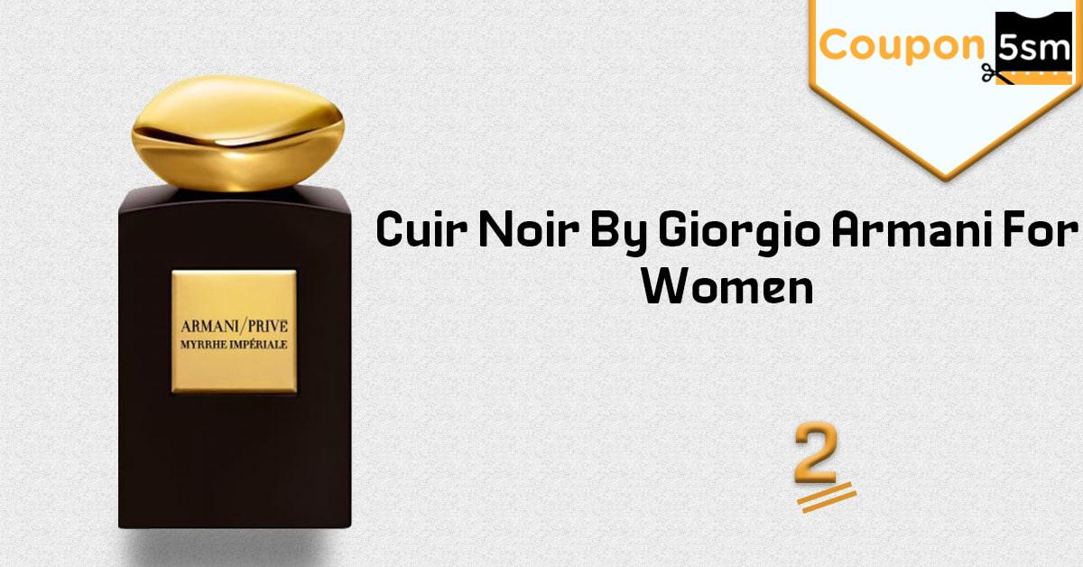Cuir Noir عطر جورجيو ارماني