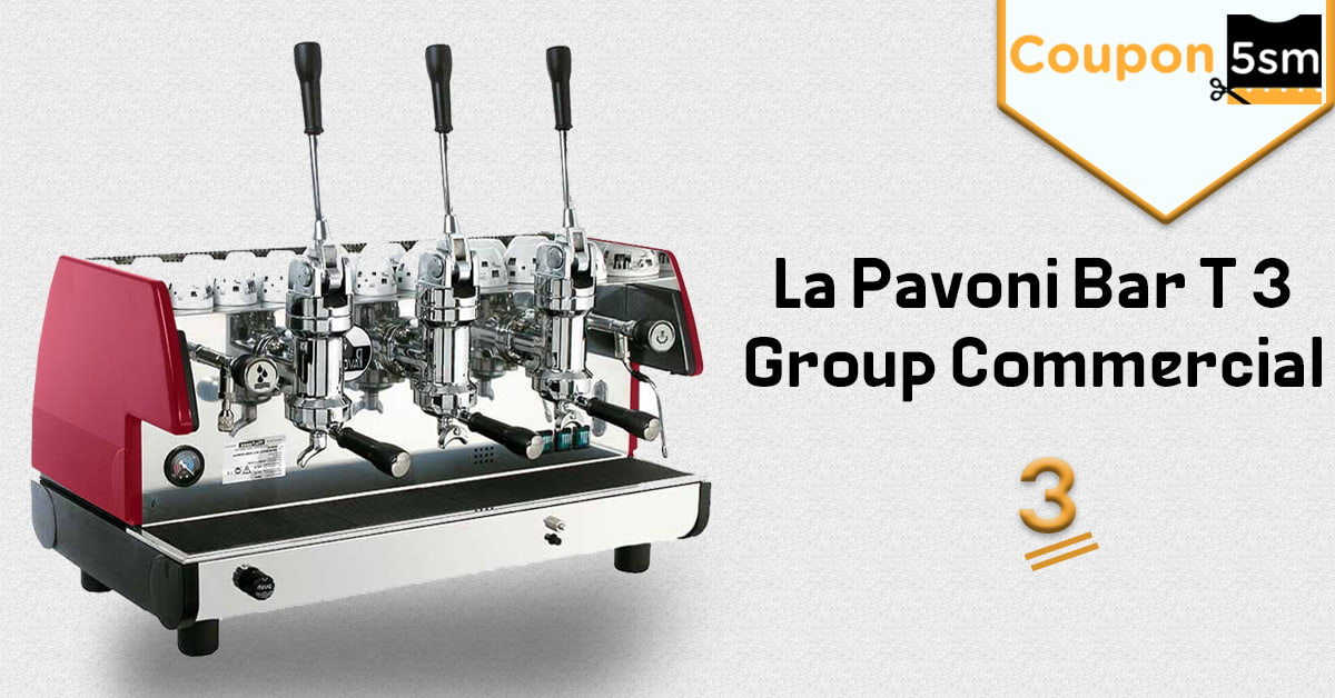 ماكينة La Pavoni Bar T 3