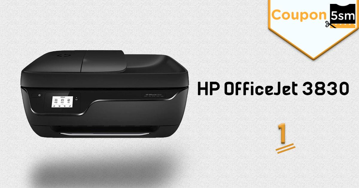 طابعة HP Office Jet 3830