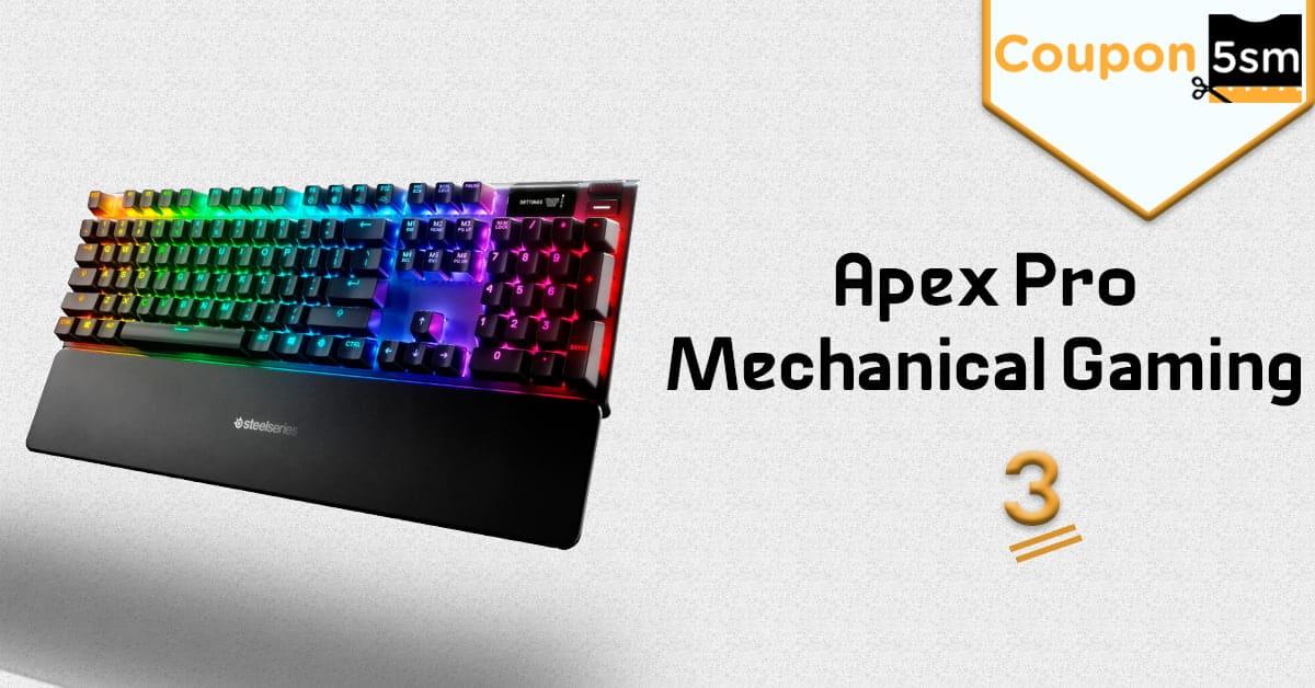 كيبورد لالعاب الفيديو Apex