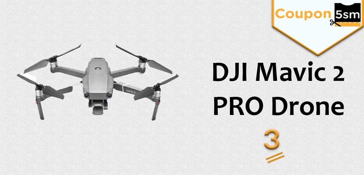 طائرة DJI Mavic 2 PRO Drone