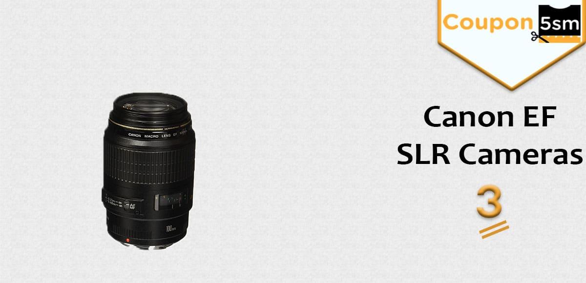 Canon EFSLR Cameras