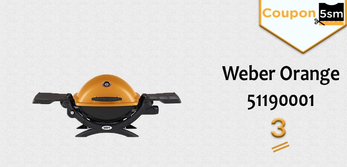Weber Orange 51190001