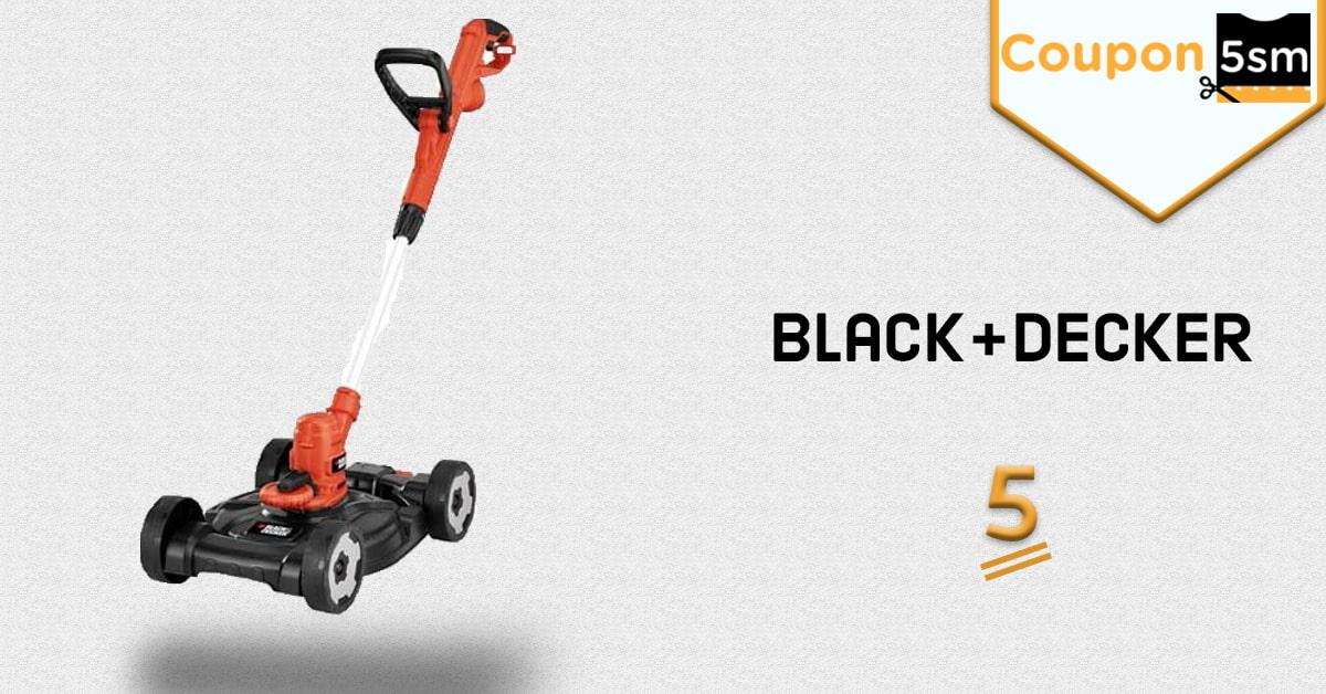 ماكينة قص العشب BLACK+DECKER