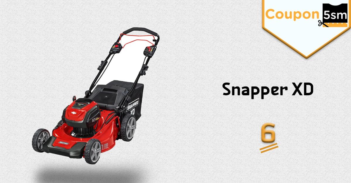ماكينة Snapper XD